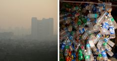 A new plastic ban in New Delhi, India came into force on January 1, 2017. The initiative hopes to combat excessive pollution in the capital city.