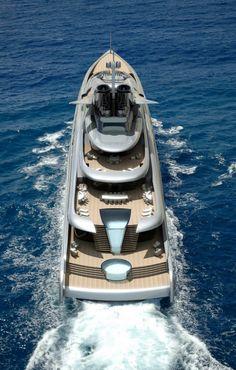 Fortissimo superyacht concept - Decks