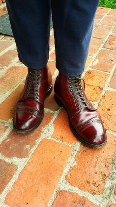 Alden Cordovan Captoe Boots