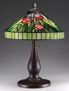J. A. Whaley Tulip Table Lamp