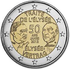 Francia 50°ann.della firma del Trattato del Eliseo