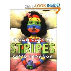 This is a Picture Story Book about a girl who does not want to be made fun of for loving lima beans. On the first day of school, she develops stripes!!!! This is a really cute book to teach individuality and self-confidence.