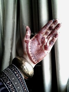 Henna design for sangeet By Alia Khan