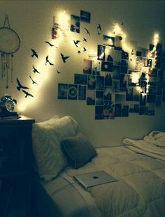 Want to do this for my dorm!  on We Heart It