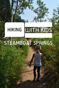 Looking for easy hikes in Steamboat Springs, CO? This rounded up includes seven easy Steamboat Springs hiking trails perfect for hiking with kids. Hiking With Kids, Travel With Kids, Family Travel, Steamboat Springs Colorado, Steamboats, Hiking Tips, Travel Usa, Travel Tips, Travel Destinations