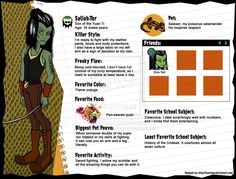 monster high character profile | Monster High OC Profile: Saliah-Tor by ~AnaAosPedacos on deviantART