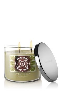 Bath  Body Works Slatkin  Co Three Wick 145 Oz Scented Candle  Evergreen *** Learn more by visiting the image link.