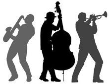 Jazz Musician Silhouette Cutouts <b>jazz musicians</b>, <b>musicians</b> and <b>jazz</b> on pinterest
