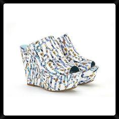 Marsha Mavi Sandalet