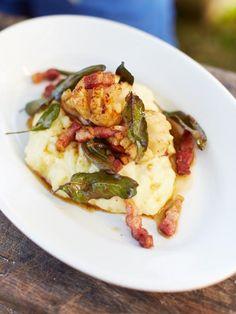 Seared scallops & creamy mash with crispy bacon and sage | Jamie Oliver | Food | Jamie Oliver (UK)