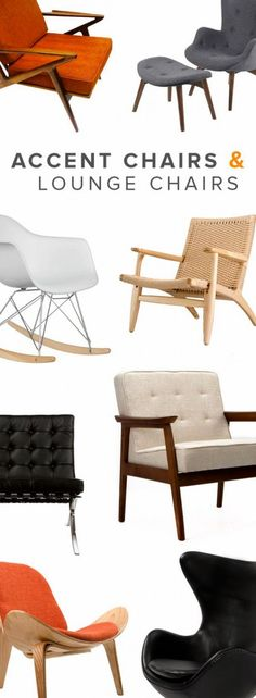 Accent Chairs & Lounge Chairs   Up to 70% off at dotandbo.com