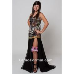 Dance the night away in one of our exclusive homecoming gowns. Flirty short skirts to fitted sheath dresses in Mossy Oak New Breakup Camo will definitely make a style statement at any event.