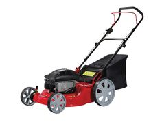 The CAMON Taurus 46 W is a push steel deck rotary mower. Powered by a recoil start Briggs & Stratton engine, the Taurus 46 W has two lever height adjustment through 5 different cutting heights. The rear wheels of the Taurus 46 w are also larger than the front, which increaes the manoeuvrability of the lawnmower.     This is a simple and effective mower to use on small and medium sized lawns. A non nonsense mower that will work for many years to come.    Price - £382.80