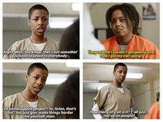 "She tries her best to be helpful to young people. | Poussey Is The Most Underrated Character In ""Orange Is The New Black"""