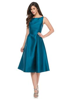 Adrianna Papell Fit and Flare T-length Cocktail Dress