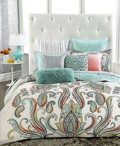 "Like this pillow:INC International Concepts Empress 10"" x 20"" Decorative Pillow Color: SEAFOAM SEAFOAM"