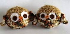 2000 Free Amigurumi Patterns: The owl and the pussycat