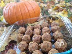 Paleo Snacks - Raw Paleo Pumpkin Balls Recipe