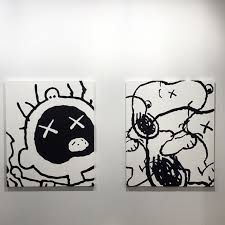 Image result for PACE PRINTS KAWS