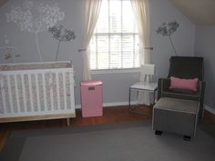 Project Nursery - Grey and pink