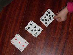 Unconventional Mom: Aritmetica con papà: giochiamo a Rubamazzo!