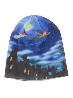 Disney Peter Pan Flight Slouch Beanie   Hot Topic