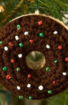 Doughnut Ornament Fr