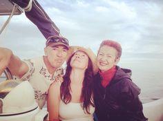 Un día de mar con el Capi! Y Candi