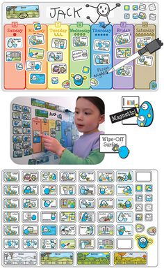 Love this calendar by 2 Fish Kids