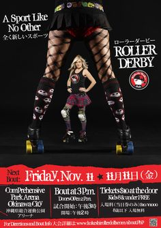 Bringing Roller Derby to Okinawa, Japan.