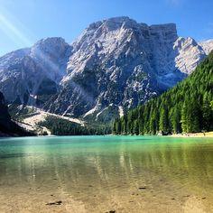 Pragser Wildsee / Lago di Braies in Bolzano, Trentino - Alto Adige