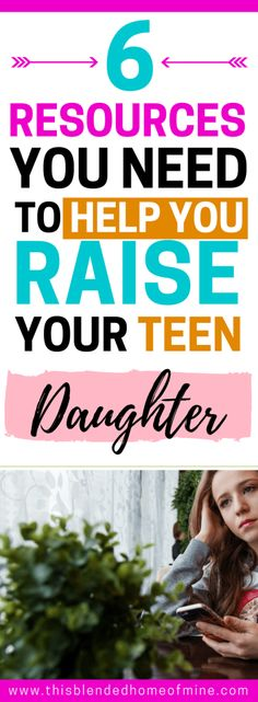 6 Books You Should Read to Help You in Raising Teenage Girls - This Blended Home of Mine _ Parenting tips for raising teenage daughters # Parenting daughters 6 Books That Will Help You Finally Understand Your Teenager - Gentle Parenting Quotes, Best Parenting Books, Parenting Hacks, Parenting Classes, Peaceful Parenting, Parenting Styles, Raising Teenagers, Parenting Teenagers, Christian Parenting Books