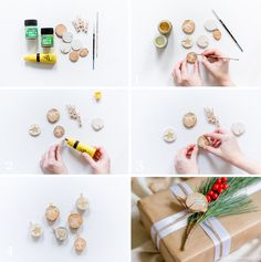 Alles und Anderes Do It Yourself Inspiration, Blog, Homemade, Products, Diy Xmas Gifts, Christmas Time, Decorating, Creative, Decorations
