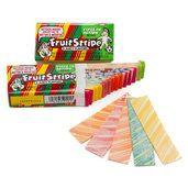 Fruit Stripe Bubble Gum Packs - Juicy: 12-Piece Box