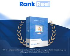 Rank Reel Review - Do you want to get New 5-in-1 Whitehat SEO Software Suite Sends Videos to  the Top of Google (and keeps them there in 2019 and  beyond)?  #rankreel #rankreelreview #seo #rank #marketing #localbusiness #localagency #affiliate #business #smallbusiness #onlinemarketing #youtuber #youtubemarketing #videomarketing Seo Software, Seo Ranking, Social Bookmarking, Seo Optimization, Seo Tools, Local Seo, In 2019, Online Marketing, Make Money Online