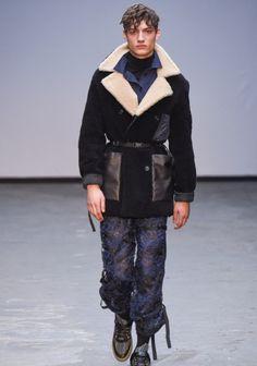 Londra Moda Haftası'ndan: James Long Sonbahar / Kış 2015