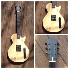 Les Paul Jr Telecaster Solid Body Electric by LackeyRoadGuitars