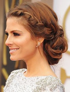 Gorgeous Braided Updo Hairstyle