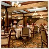 """The Oak Room at the Seelbach Hotel.  Louisville, KY.  Never realized the """"mob"""" was a big part of Louisville's history.  There are hidden back rooms and a secret """"escape"""" staircase for mobsters in this restaurant.  Interesting!  And the food is spectacular!"""