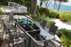 Salon de jardin Gili - HESPERIDE.fr | Hesperide | Pinterest | Salons ...
