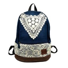 Crochet Trim Backpack | Shop Accessories at Wet Seal | Bags ...