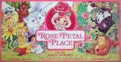 Rose Petal Place. Once again, the doll with the blue hair was my favorite.
