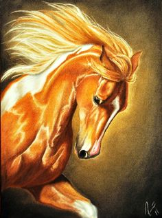 #horse #painting #equine #art
