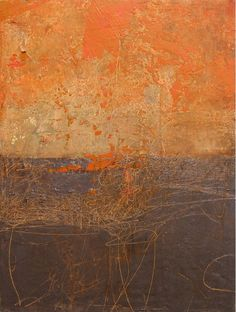 Rebecca Crowell ~ Old Wall, Barcelona Art Grunge, Wax Art, Robert Rauschenberg, Art Folder, Types Of Painting, Encaustic Art, Fantasy Paintings, Fantastic Art, Texture Art