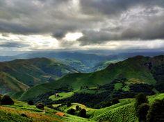 El #CaminoFrancés por #Roncesvalles es toda una experiencia de colores.  www.caminodesantiagoreservas.com