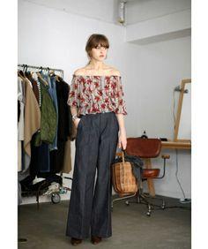 Off Shoulder Flower Blouse(シャツ/ブラウス)|TODAYFUL(トゥデイフル)のファッション通販 - ZOZOTOWN