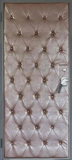 soundproof door ideas interior doors tufted leather upholstery