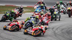 Ya tenemos el calendario definitivo para el Mundial de Motociclismo de MotoGP 2017. Apunta las fechas y los circuitos de las carreras de MotoGP.