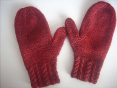 Ravelry: Girls and Ladies Mittens pattern by Nell Armstrong