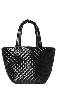 MZ Wallace 'Medium Metro' Padded Lacquer Tote available at #Nordstrom